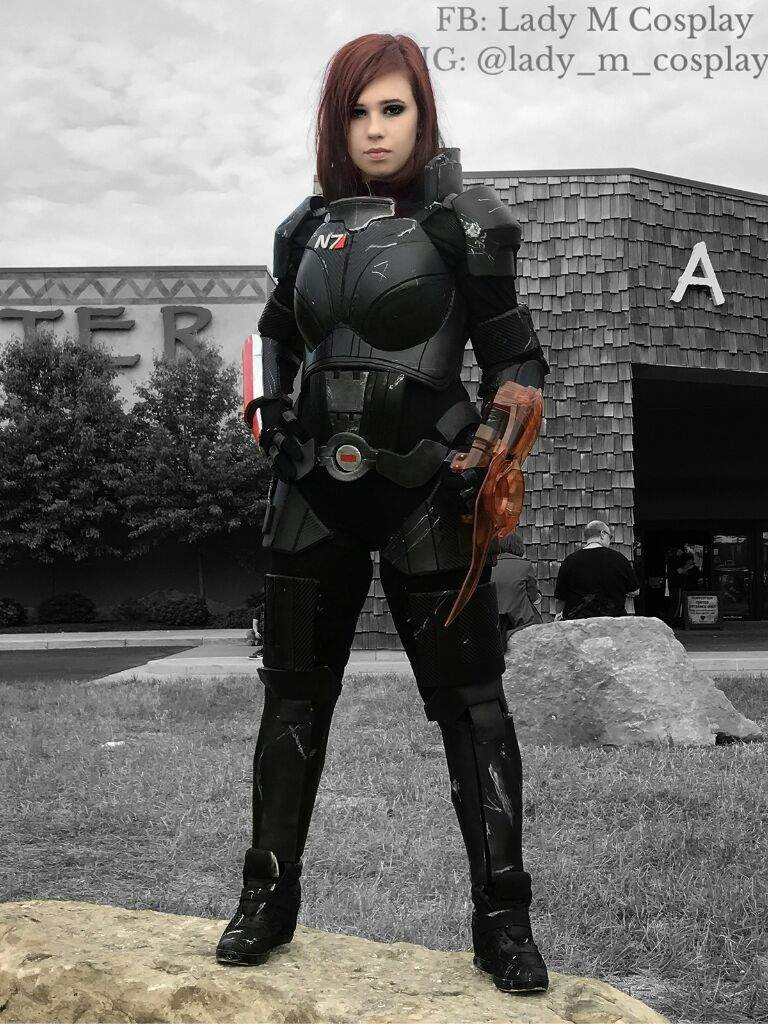 Commander Shepard Cosplay Amino