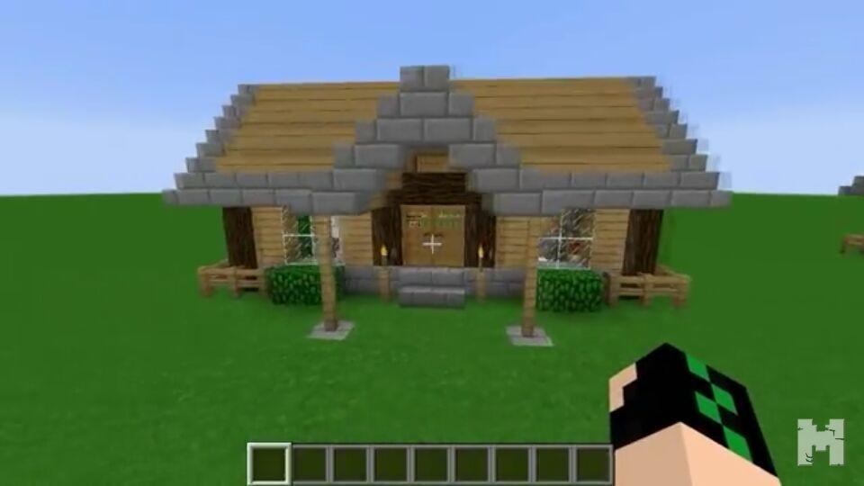 Como construir uma casa simples e bonita minecraft for Casa moderna minecraft xbox 360