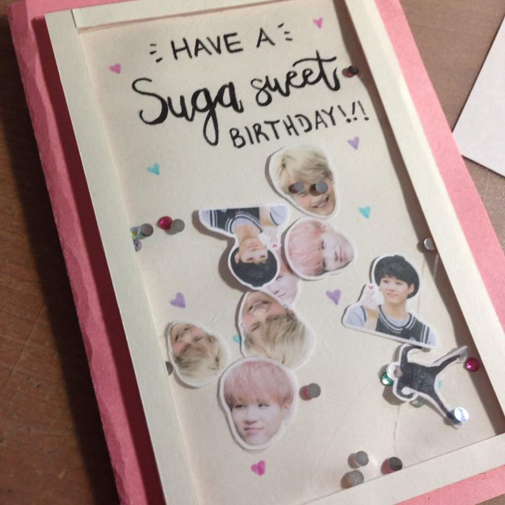 Diy Bts Birthday Card Armys Amino