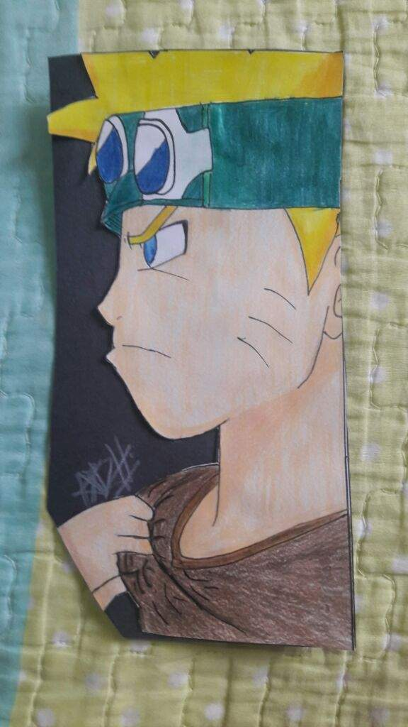 Dibujo de Naruto Uzumaki  Naruamino Amino