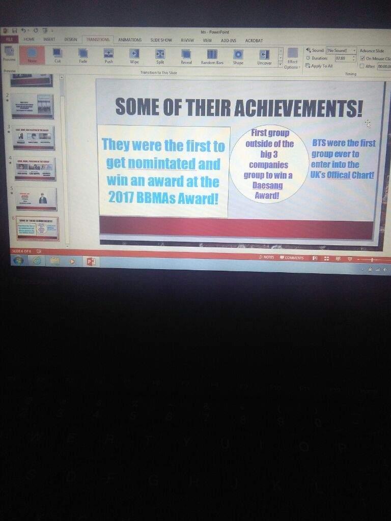 Bts Presentation At School Army S Amino