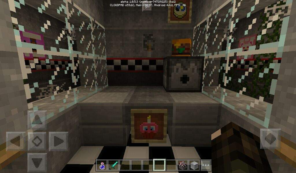 Fnaf 3 Office Minecraft