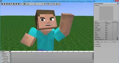 как сделать анимацию майнкрафт на андроид #4