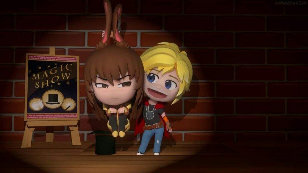 My face when velvet appeared in Rwby Chibi | RWBY Amino