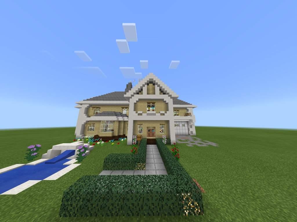 Semi Rich Suburban Neighborhood House Build Minecraft Amino