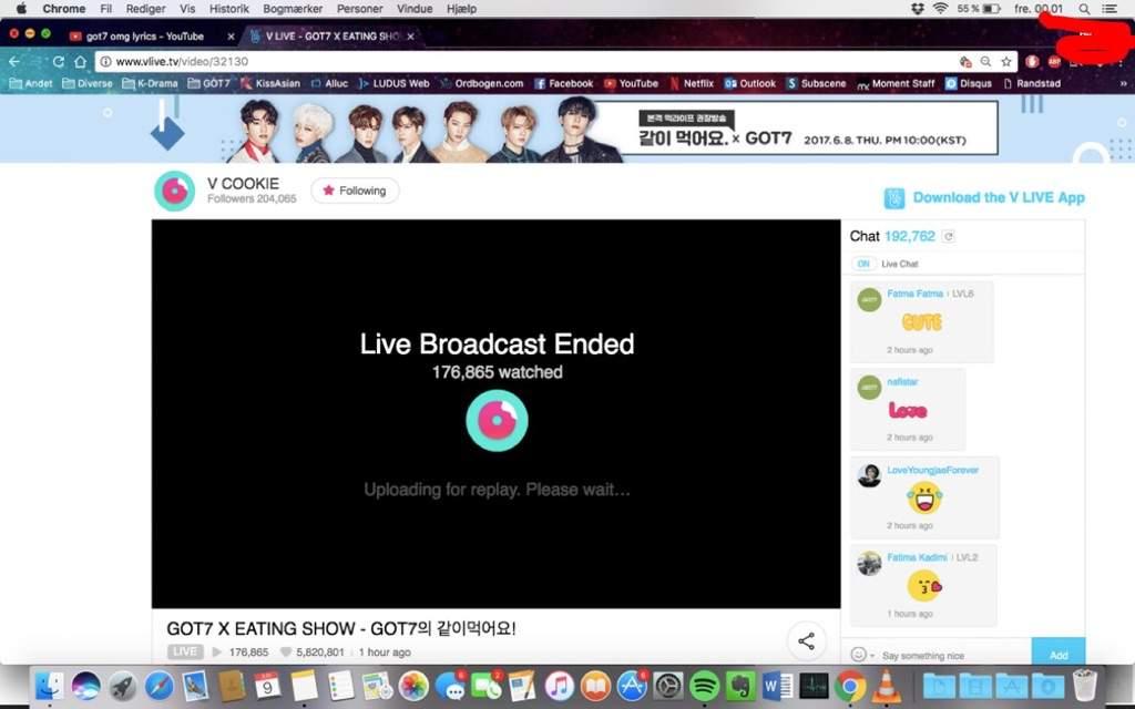 5,8 million likes on GOT7 live show ~ | GOT7 Amino