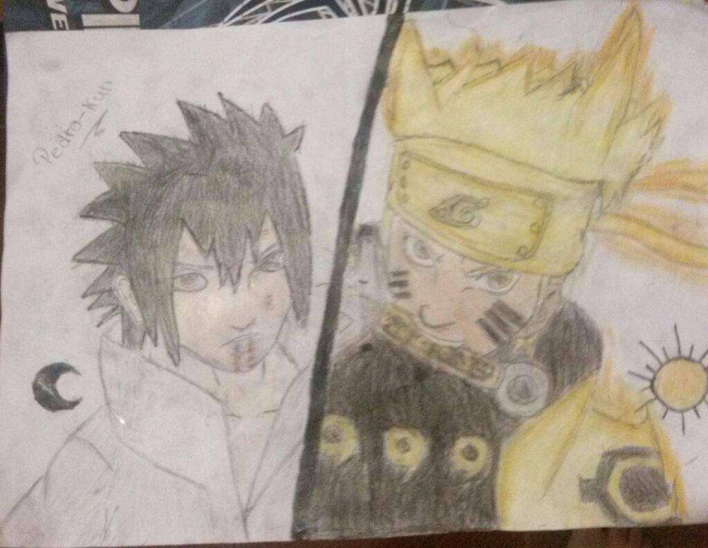 desenho naruto e sasuke boruto oficial br amino