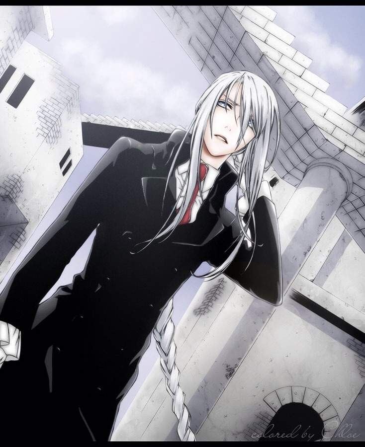 Heres Some Pictures Of Anime Boys Who Have White Hair