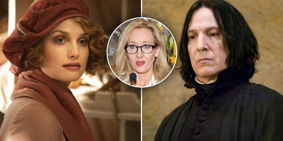 Is Queenie Goldstien Severus Snape's grandmother | Harry