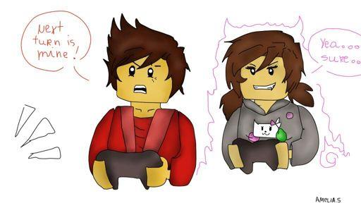 Fiz Cartoons A Base De Desenhos Ninjago Amino