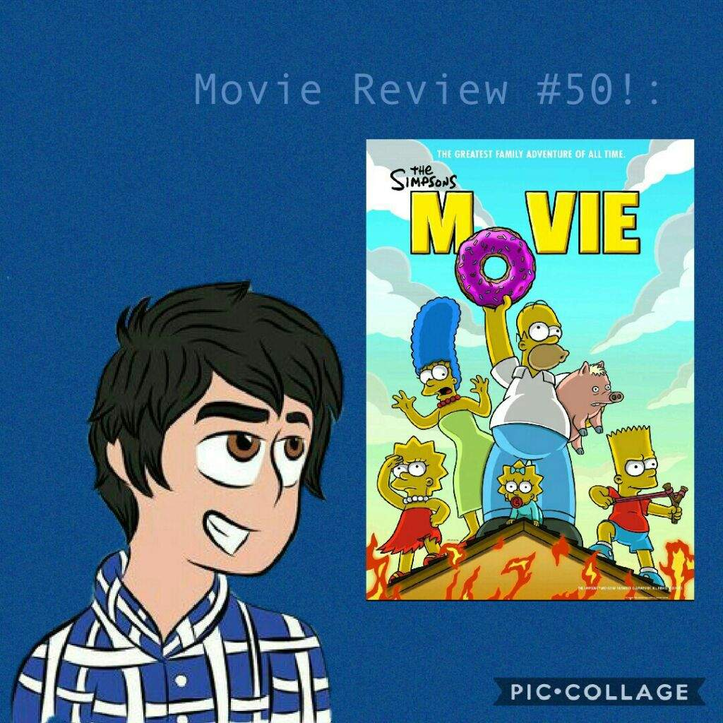 Movie Review 50 The Simpsons Movie 18th Birthday Special Cartoon Amino