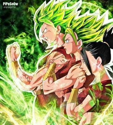 Dragon Ball Super Kale Es La Super Saiyayin Legendario Dragon