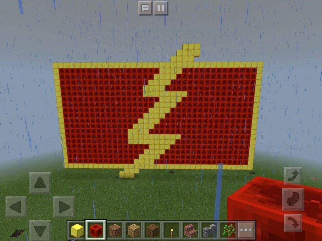 Minecraft Flash Logo The Flash Amino