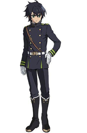 Mika and Yuu Uniform Sewing Patterns | Cosplay Amino