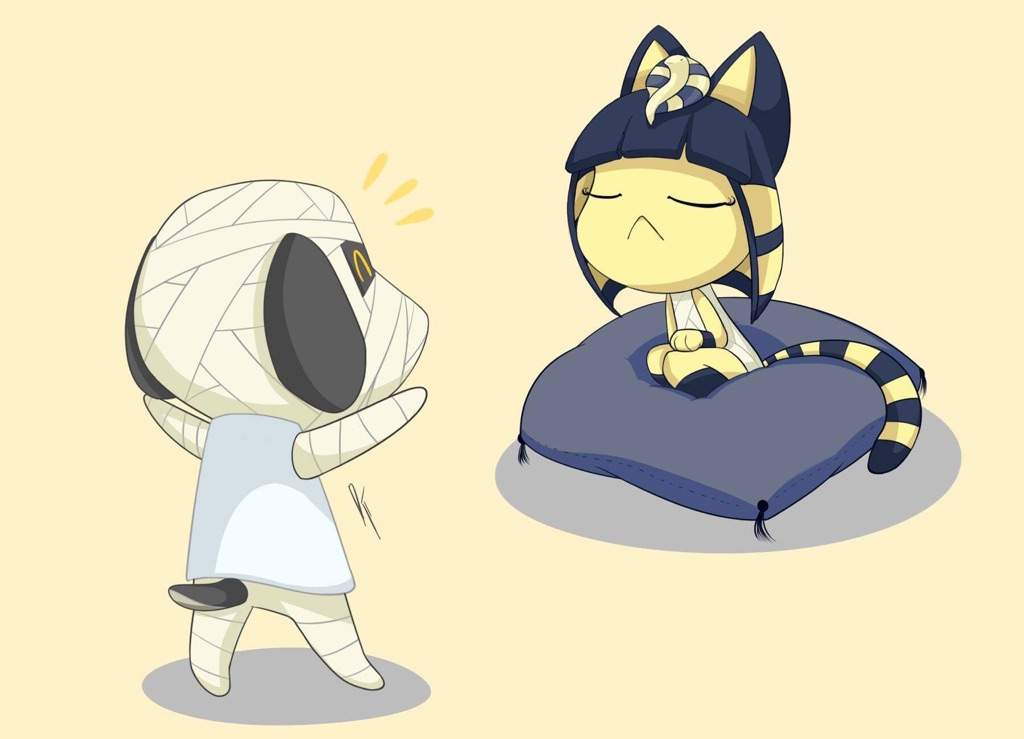 Tutorial Lucky Wants To Play With Ankha Drawing Tutorial