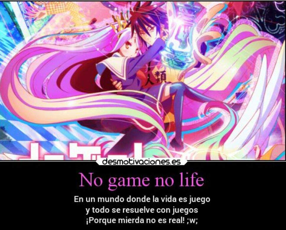Frases No Game No Life Amino