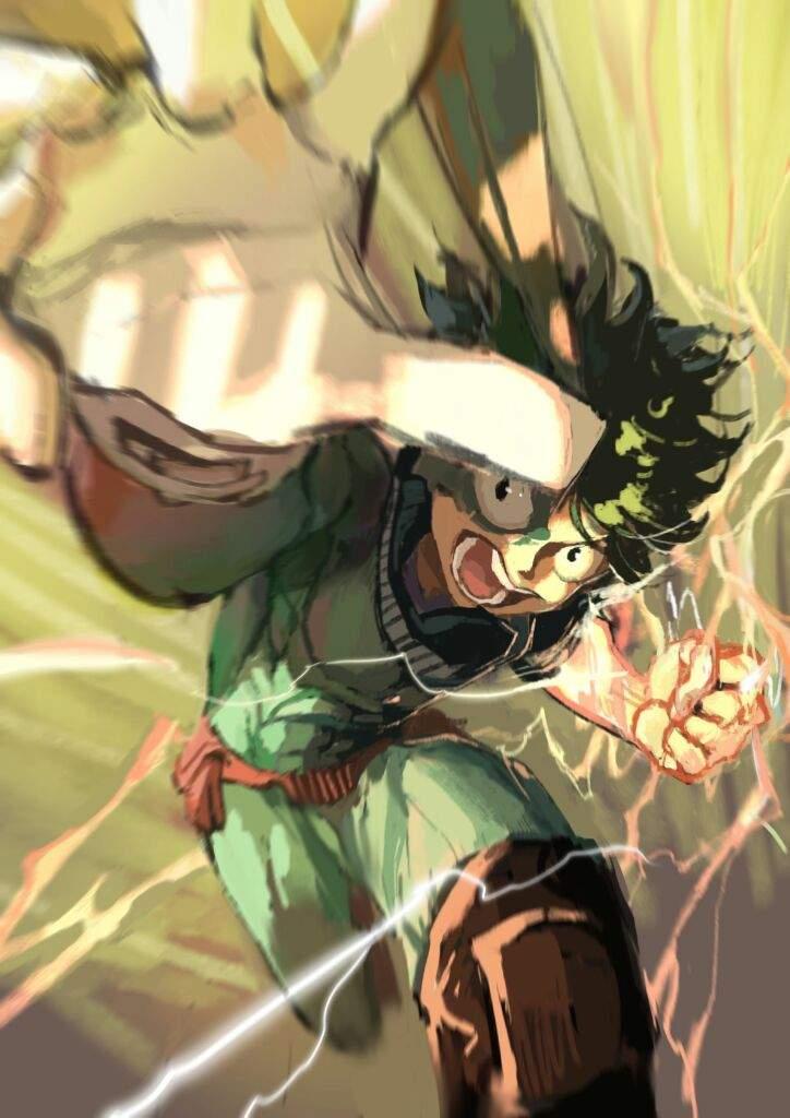 Anime Character Quirks : Why izuku midoriya is my favorite mha character anime amino