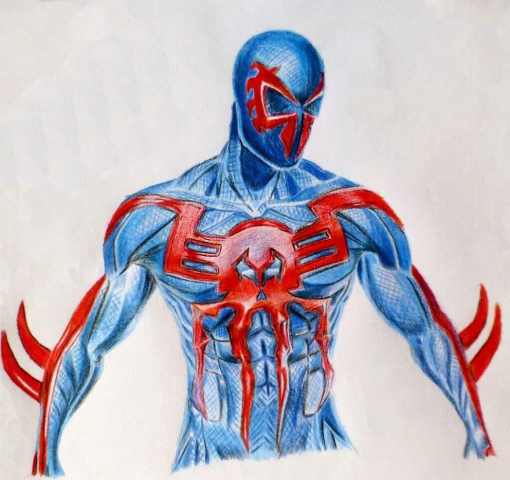 🎨Dibujo de Spiderman 2099 🎨 | •Arte Amino• Amino