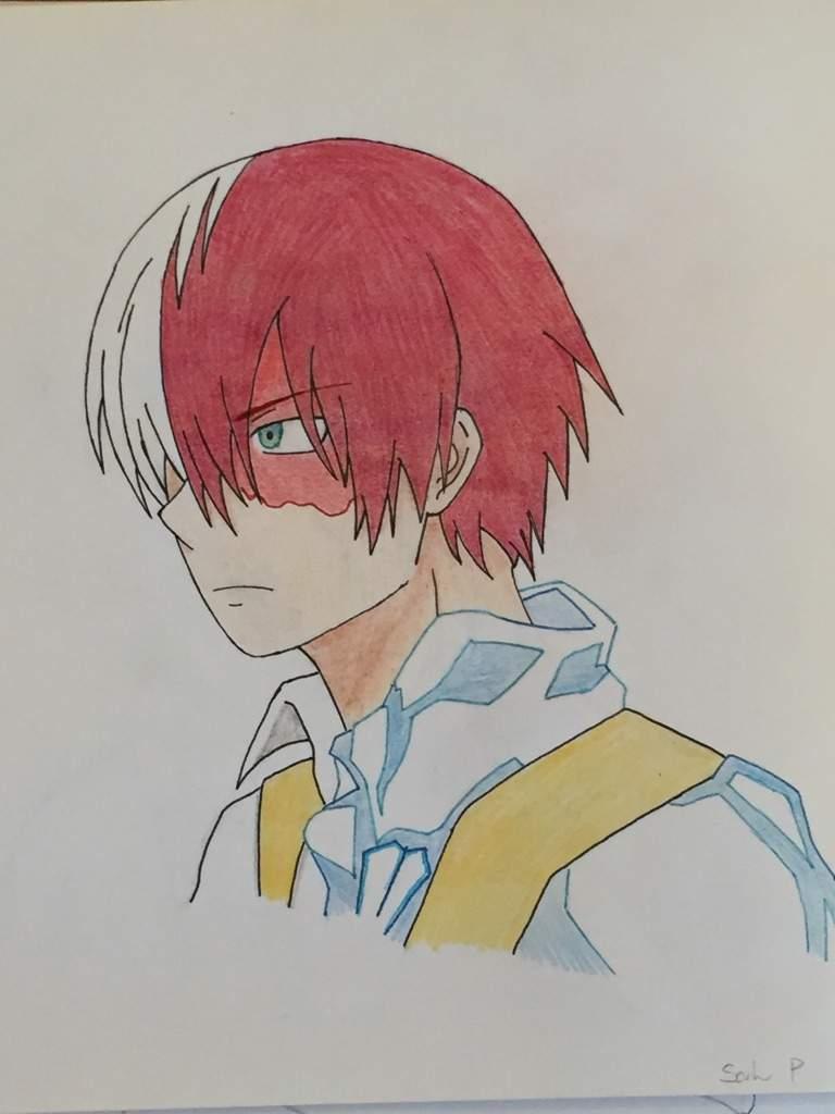 Shoto Todoroki Drawing My Hero Academia Amino