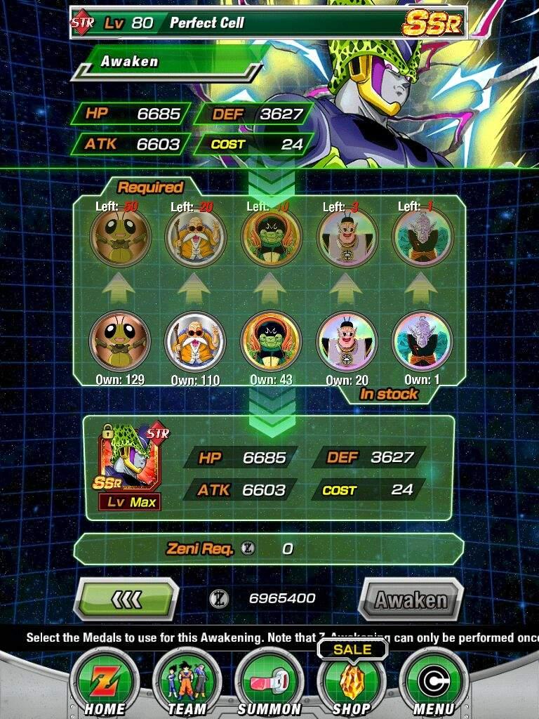 I z awaken str cell | Dokkan Battle Amino