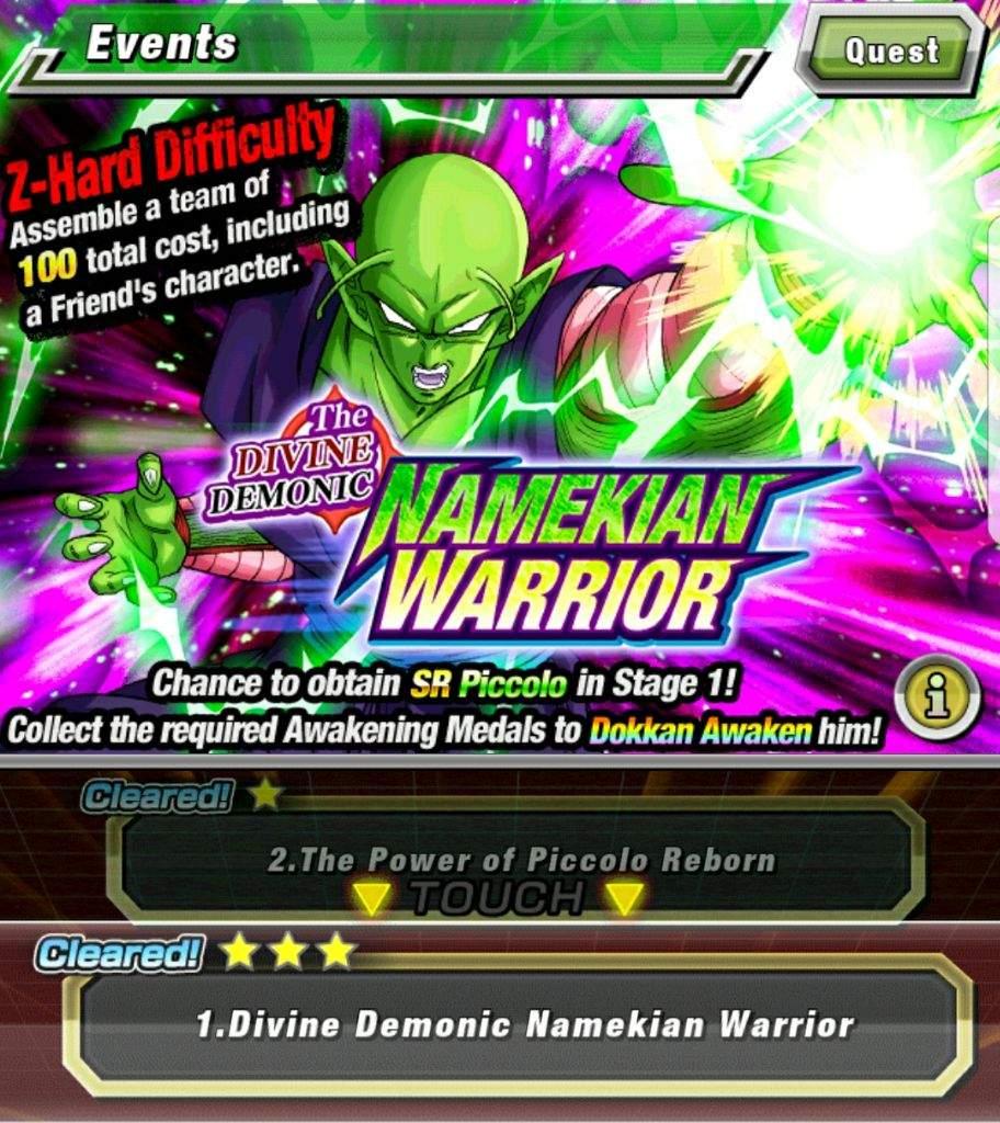 LR Piccolo: Farming Super Attack    Dokkan Battle Amino