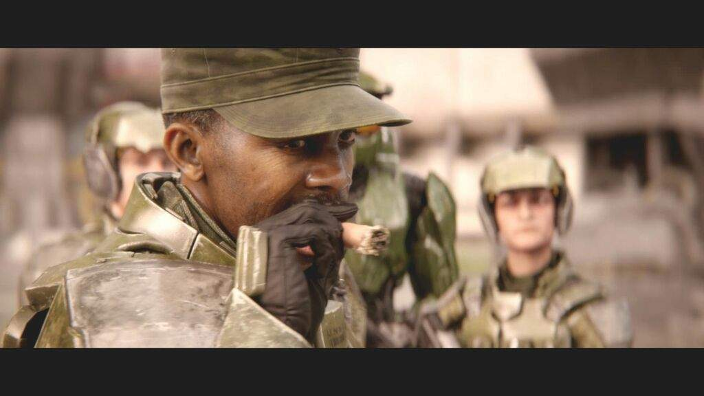 Sgt Johnson | Wiki | Halo Amino