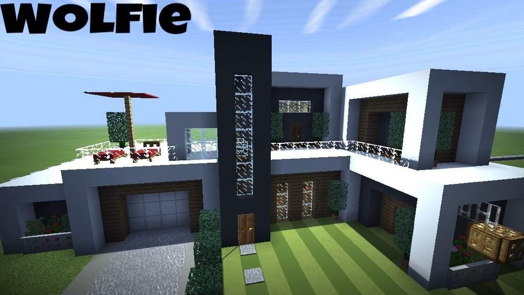 Modern House Wolfie Minecraft Amino