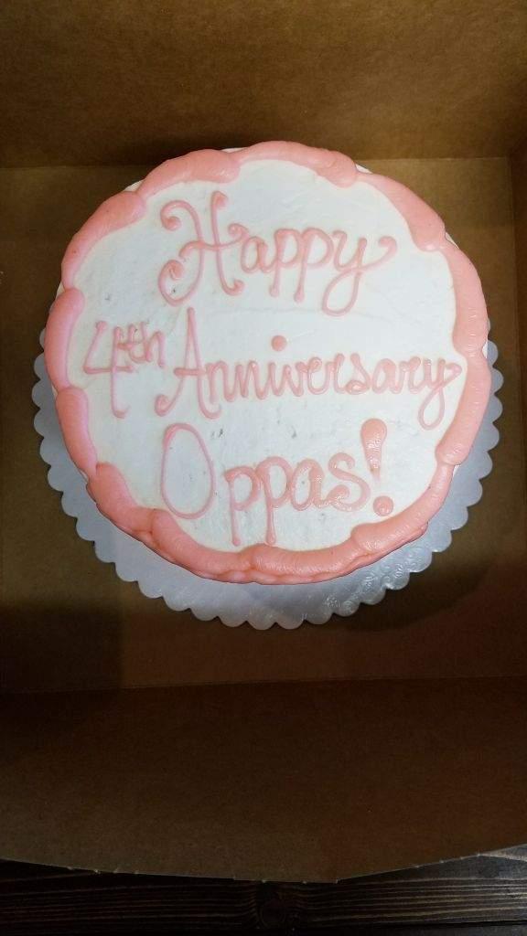 Bts Anniversary Cake Armys Amino