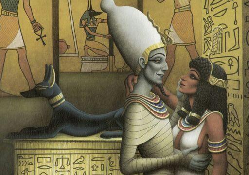 Divine sperm of osiris egyptian myths curious