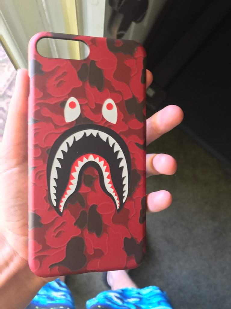 super popular fc401 14760 My new iphone 7 plus bape shark case | Sneakerheads Amino