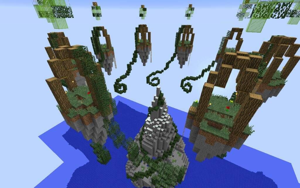 Map Build: Skywars - Classic! #FlameBuilds   Minecraft Amino