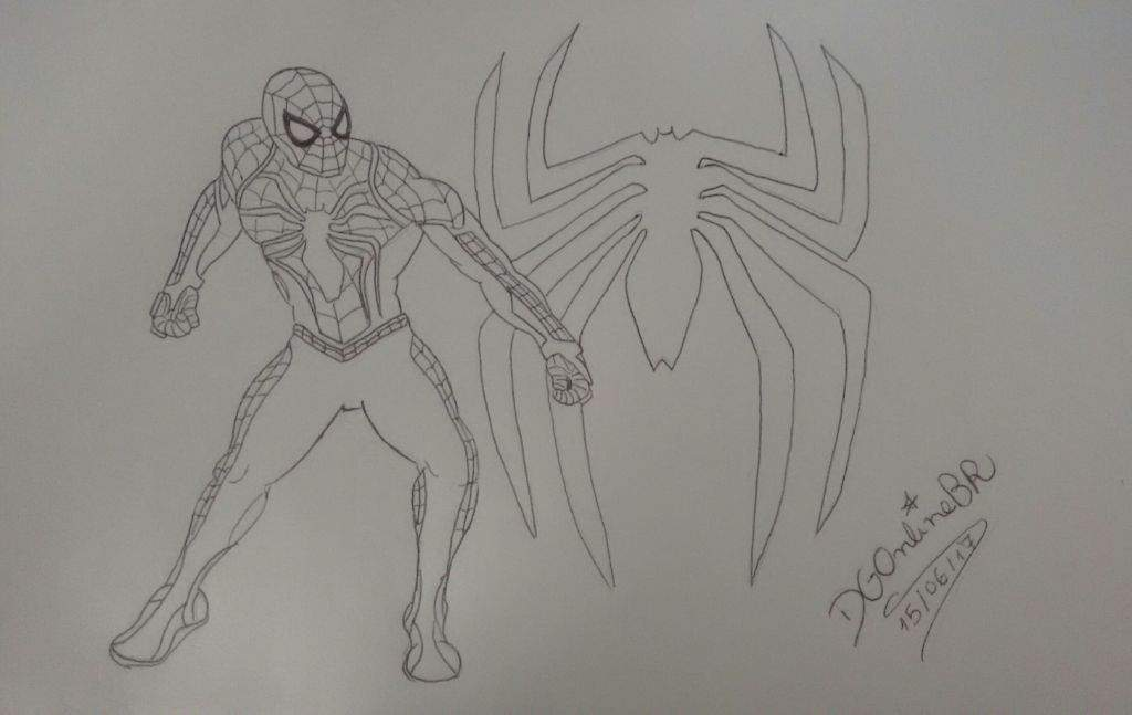 Spider Man Ps4 My Draw For Up Hype In The Game Homem