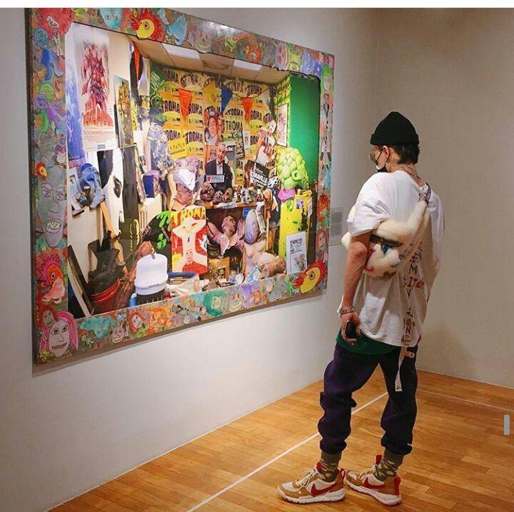 GD at Daelim Contemporary Art Museum, Seoul | Big Bang Amino