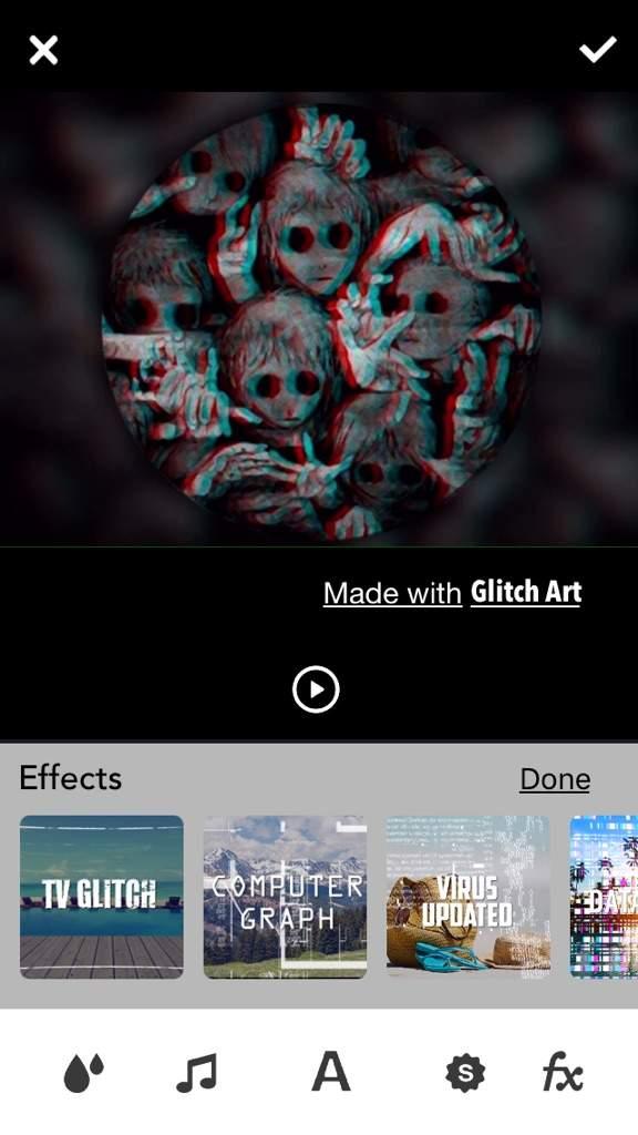 GlitchArt app review & Tutorial | Editing & Designing Amino