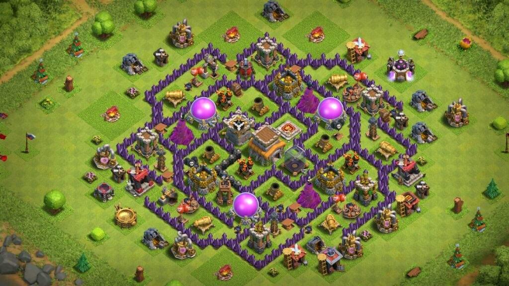 melhor layout cv8 clash of clans pt br amino