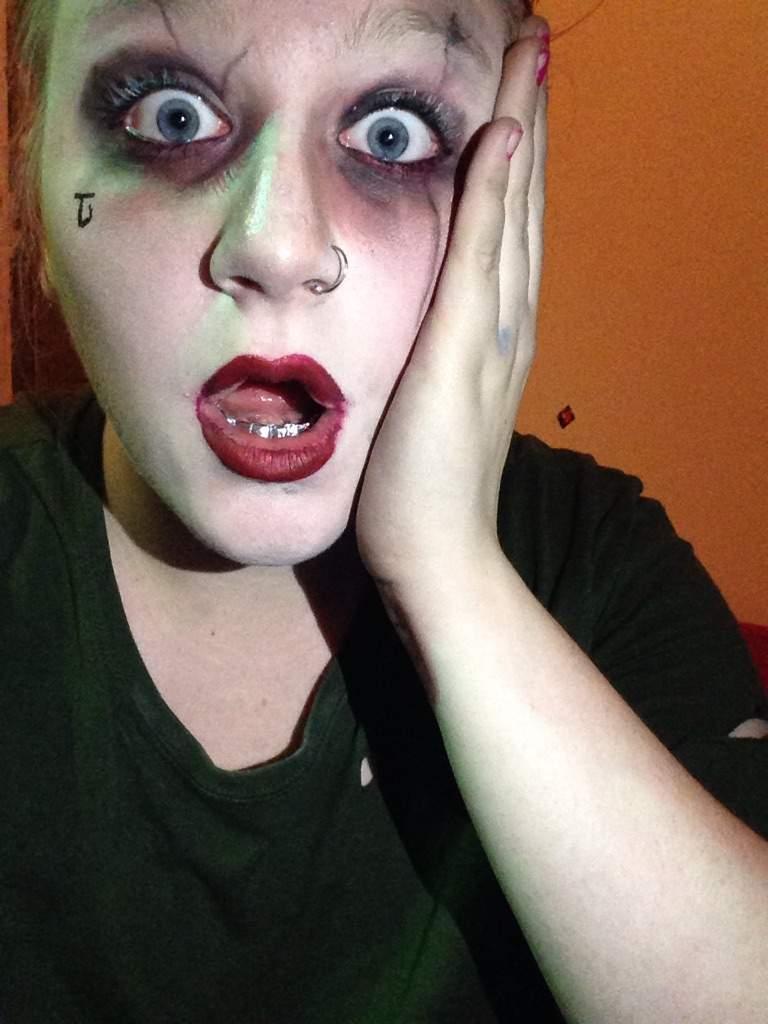 Joker Makeup (Suicide Squad)