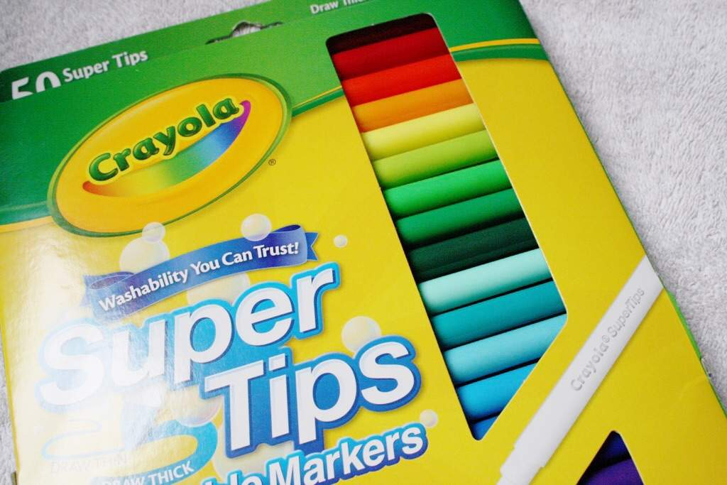 Crayola supertips review worth the hype? studying amino amino