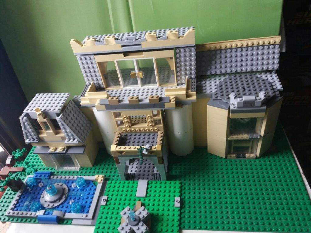 how to build a lego mansion