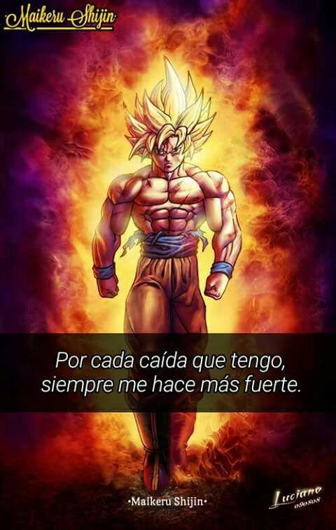 Motivación Dragon Ball Español Amino