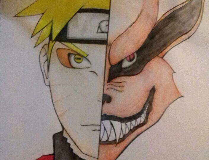 Naruto Y Zorro 9 Colas Arte Poemas Y Escritos Amino