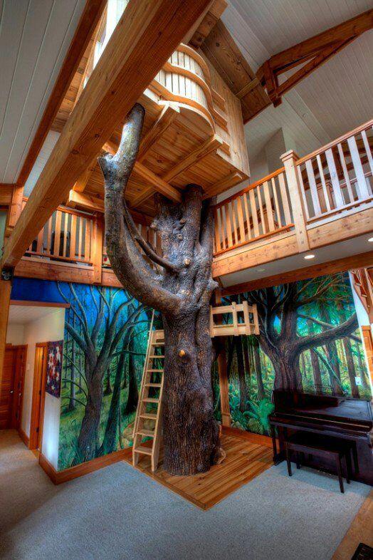 Gut #2 Baumhaus Im Kinderzimmer? Wie Geil Ist Das Denn Bitte?!