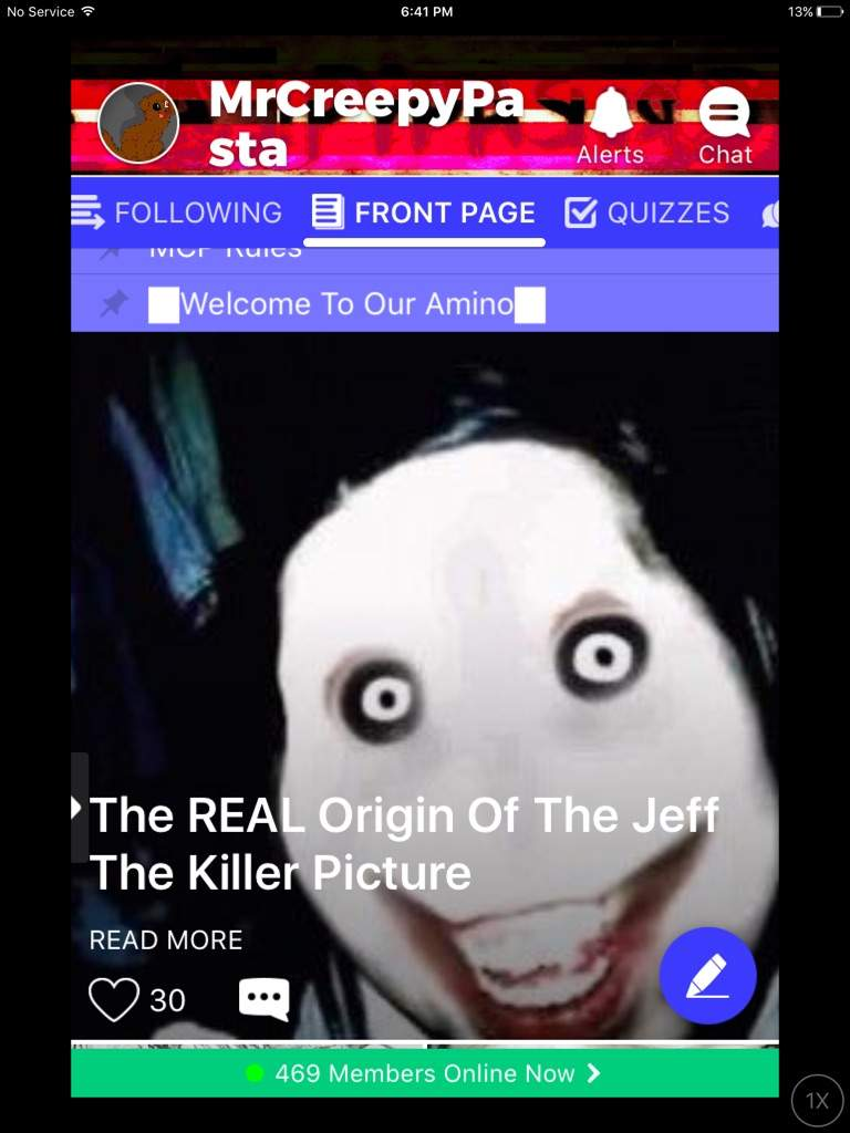 The REAL Origin Of The Jeff The Killer Picture