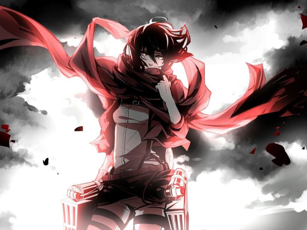 Wallpaper De Mikasa Ackerman Attack On Titan Amino
