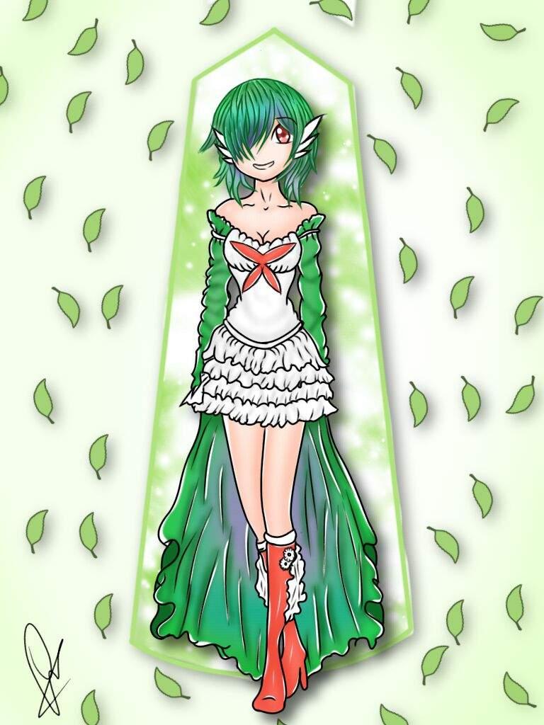 Gardevoir Human form Art | Pokémon Amino