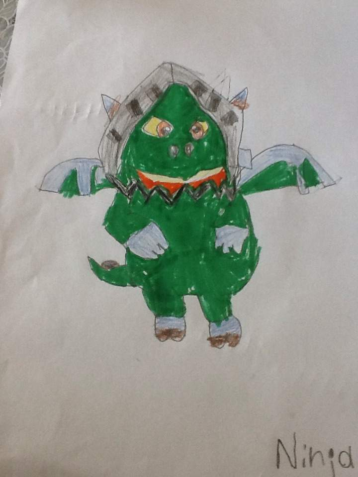 inferno dragon how to draw