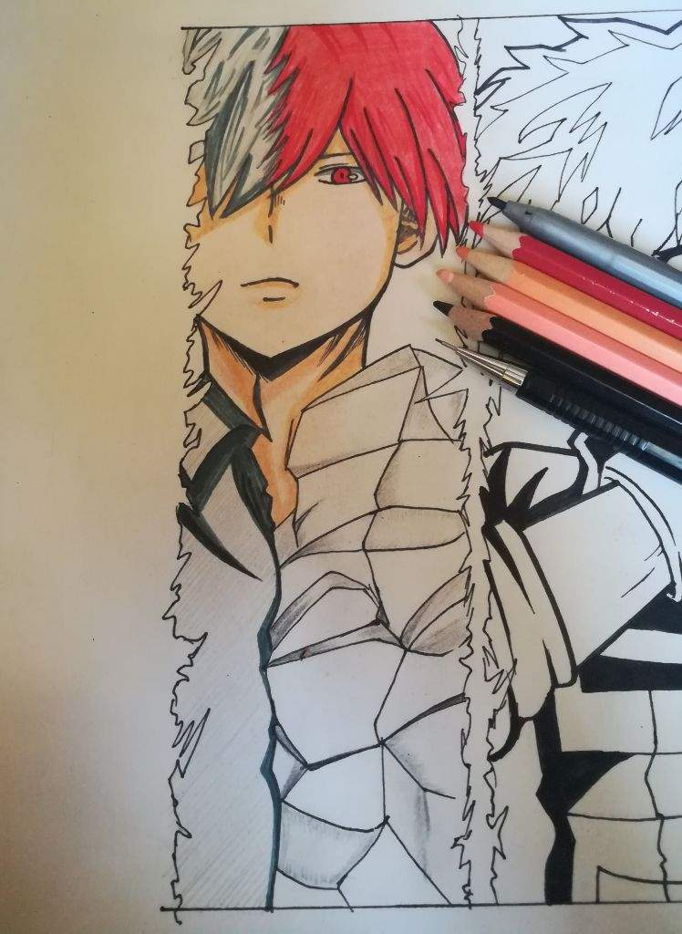 Boku no Hero Academia || Art Process | Anime Amino