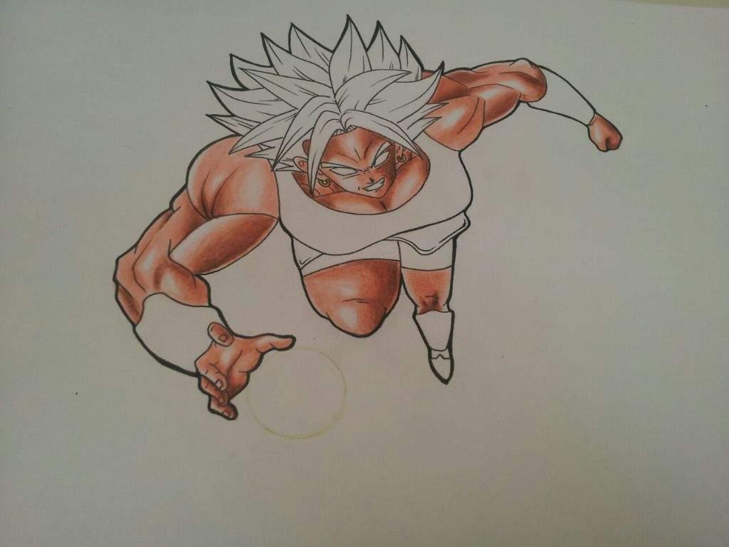 Proceso de dibujo ( kale - dragon ball super) | •Arte Amino• Amino