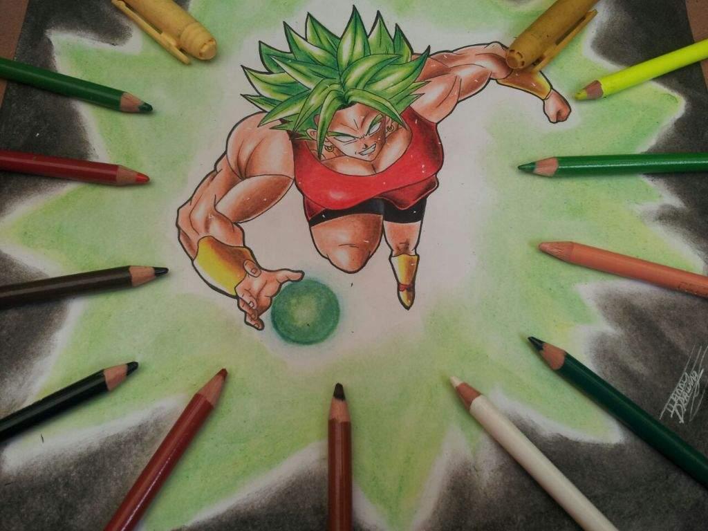 Proceso de dibujo ( kale - dragon ball super)   •Arte Amino• Amino