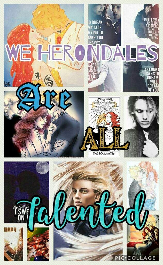 We Herondales Are All Talented (Jace Herondale