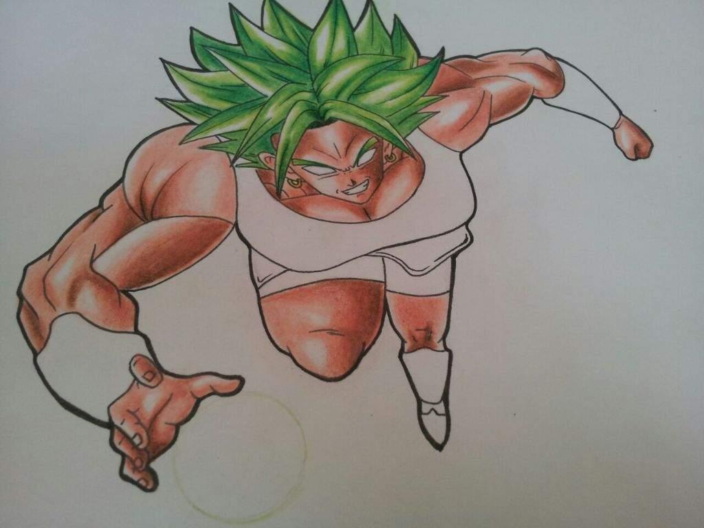 Proceso De Dibujo Kale Dragon Ball Super Arte Amino Amino